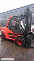 Linde [2014] LINDE H80D-900, DIESEL 8ton/900 positioner, 2014, Camiones diesel