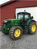 John Deere 6150 M, 2014, Traktorit
