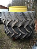 Kleber 580/70 R38 Med stænger, Dupli kotači