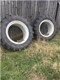 Michelin 16.9 X 38 Med kroge, Tvillinghjul