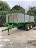 Scania 14 tons med brede dæk, Kiper prikolice
