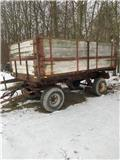 Tim 7,5 ton Sidetip, Mga tipper trailer