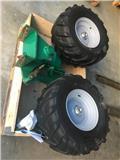Kverneland Dobbelt landhjul til EG plov., 2020, Reversible ploughs