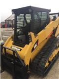 Caterpillar 259 B 3, 2012, รถตักยกมีแขนตักยืด