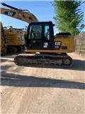 Caterpillar 313 F LGC, 2018, Crawler Excavators