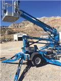 Genie TZ 34/20、2014、高所作業台付トレーラー