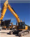JCB JS 240 LC, 2015, Excavadoras sobre orugas