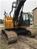 John Deere 245 G LC, 2016, Crawler excavators