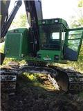 John Deere 753J, 2008, Feller bunchers