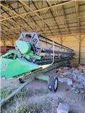 John Deere 930 F, 2002, Cabezales de cosechadoras combinadas