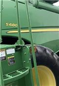 John Deere S 680, 2013, Combine harvesters