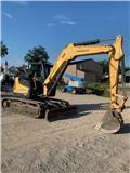 Yanmar SV 100, 2014, Crawler Excavators