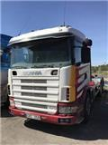 Scania R 124, 2002, Hook lift trucks