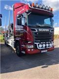 Scania R 730, 2015, Kamioni za drva
