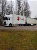 DAF XF 530 Ekeri skåpbil 16 000 mil, 2019, Box trucks