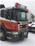 Sneplovsbeslag til Scania P model med luftaffj, Pojazdy ciężarowe