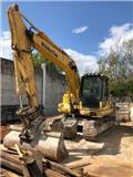 Komatsu PC130-8, 2012, Excavadoras de cadenas