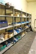 Werkstattregal mit Inhalt, Andere Lagerhaus Ausstattung