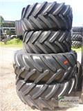Michelin 540/65 R24 + 600/65 R38, Gume in platišča