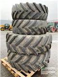Michelin 580/70 R38 + 480/70 R28, 2015, Pneumatiky, kola a ráfky