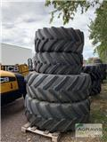 Michelin 650/65R42+540/65R30, Tyres, wheels and rims