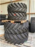 Nokian 540/65 R28 + 650/65 R38 INDUSTRIE, Tires, wheels and rims
