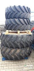 Bereifung Reifen Schläuche 480/65 R24 + 540/65 R38, Reifen
