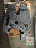 Valtra Frontgewichte 8 x 40kg, 2017, Overige accessoires voor tractoren