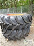 Vredestein 580/70 R38 + 480/70 R28, Tyres, wheels and rims