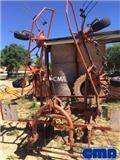 Kuhn GF 6301 M H, 1993, Граблі і сінозворушувачі