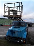 86 МЕХАНИЧЕСКИЙ ЗАВОД МО РФ 86 МЗ МО РФ АГП-18.04, 2004, Plataformas sobre camión