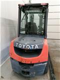 Toyota 02-8 FD F 30, 2015, Diesel Forklifts