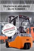 Toyota 8 FB ET 15, 2014, Elektriske trucker