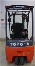 Toyota 8FBET15, 2009, Electric Forklifts