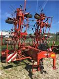 Kuhn GF 10601 T, 2008, Okretači i sakupljači sijena