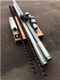 BM Silofabrik Flissnegl 7.1m., Tracks, chains and undercarriage