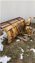 Borup 270cm. Gummiskær - Hydraulisk sving, Snow Blades And Plows