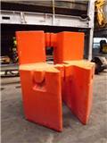 Grove GMK 6300, Krandele og udstyr