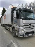 Контейнеровоз Mercedes-Benz Actros, 2013 г., 705000 ч.