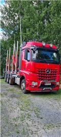 Mercedes-Benz Arocs, 2014, Transportes de madera