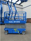 Genie GS 3246, 2007, Scissor lifts