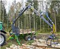 Farma CT 7,0-10 G2, 2018, Forest trailers