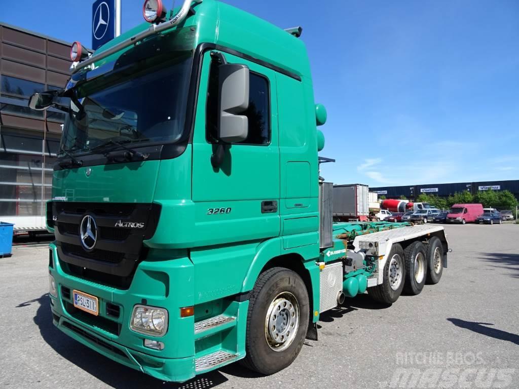 Mercedes benz actros 3260l 8x2 4500 pris 614 440 kr for Mercedes benz 440