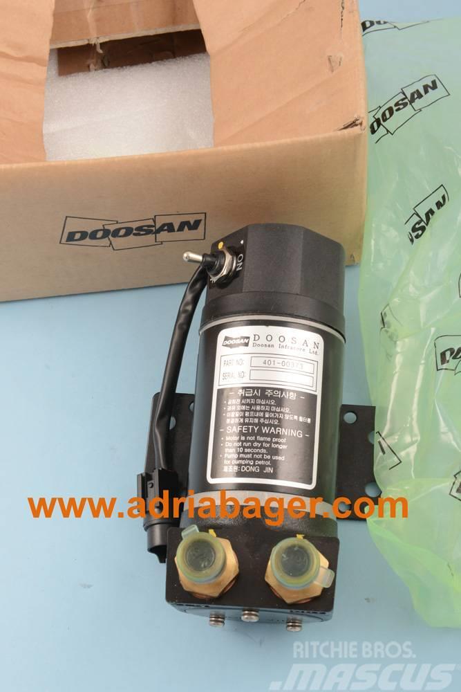 Doosan 401-00373, pumpa goriva