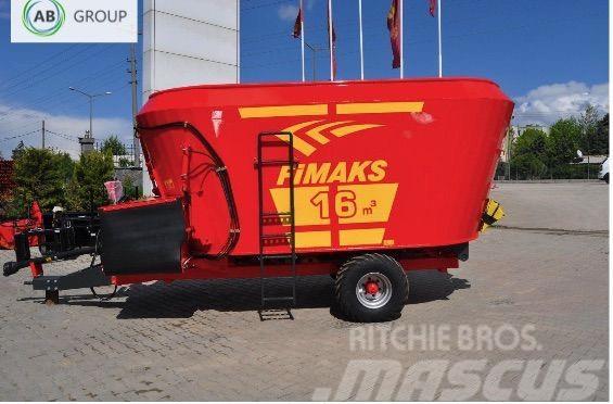 Fimaks Feeding mixer 16m3F/Futtermischwagen/wóz paszowy