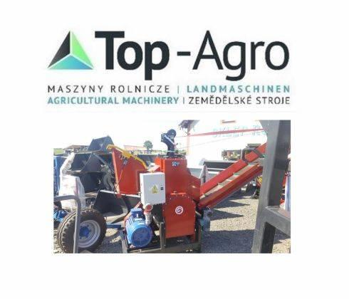 Top-Agro Mobile Wood Chipper RPE-200 + 3m conveyor