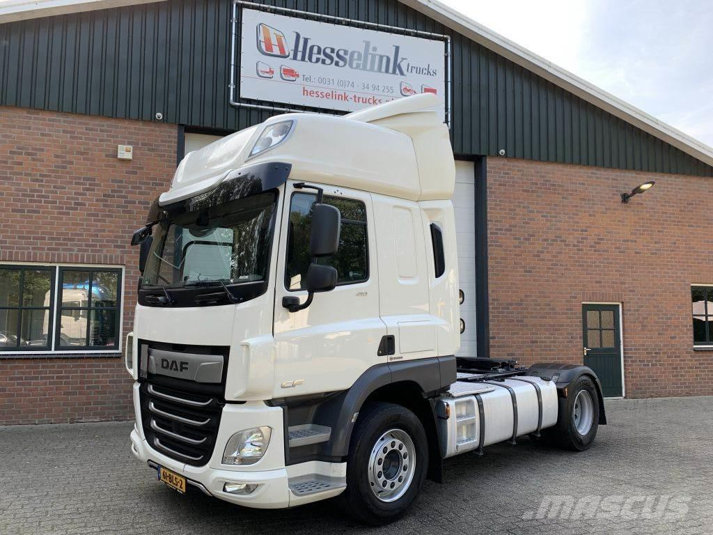 DAF CF 410 4X2 Space Cab ACC + LDWS, Top condition, NL