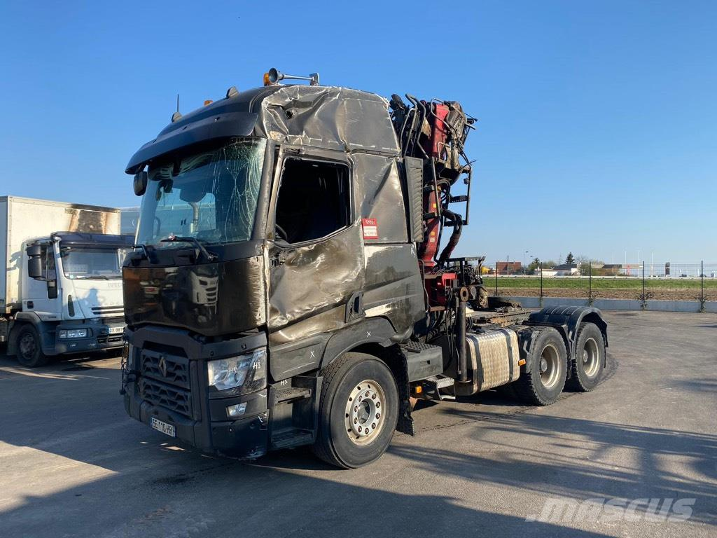 Renault C520/DIEBOLT D16-98*ACCIDENTE*DAMAGED*UNFALL*