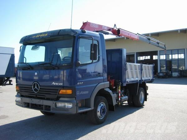 Mercedes Benz 817 ΑΤΕgo 1999 Crane Trucks