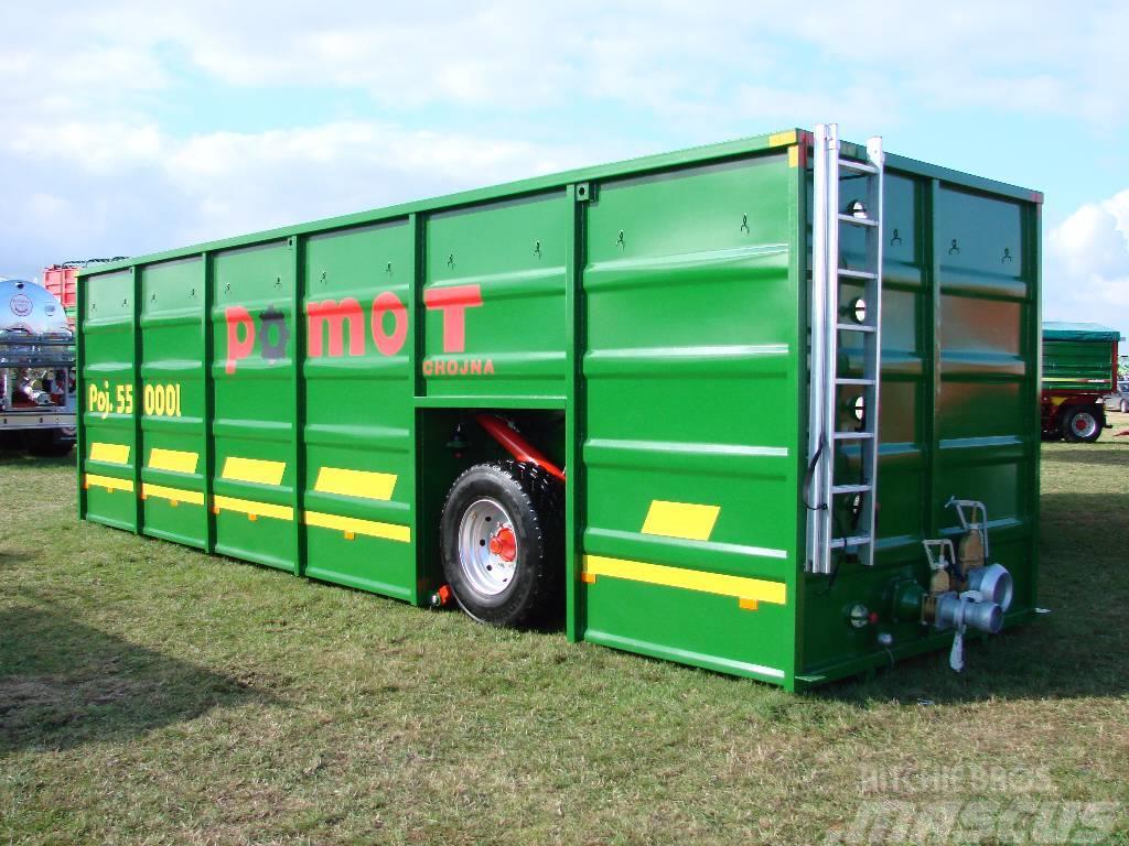 Pomot Slurry tank container, buffer tank 55 000 L